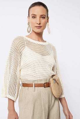 Witchery Open Weave Knit
