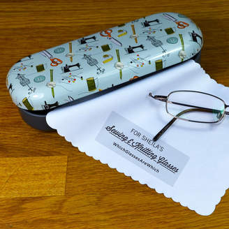 Which Glasses Are Which? Personalised Sewing & Knitting Glasses Case