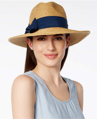 Scala Ribbon Fedora, A Macy's Exclusive Style $28 thestylecure.com