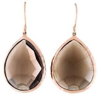 Ippolita Rosé Smoky Quartz Teardrop Earrings