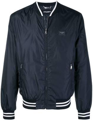 Dolce & Gabbana loose bomber jacket
