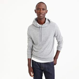 J.Crew Everyday cashmere hoodie in grey