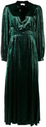 Raquel Diniz long shinny dress