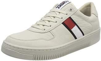 073da9a0fbc6dc Tommy Jeans Hilfiger Denim Men s Tj Nubuck Basket Sneaker Low-Top