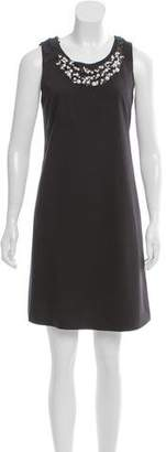 Rebecca Taylor Embellished Cutout Dress
