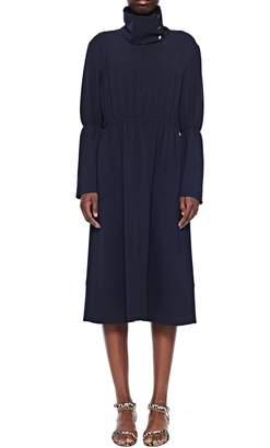 Tibi Esme Crepe Shirred Waist Dress