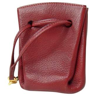 Hermes Vintage Burgundy Leather Purses, wallets & cases