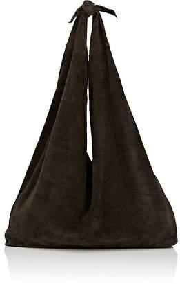 The Row Women's Bindle Suede Shoulder Bag