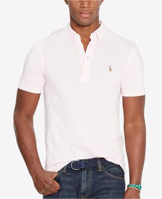 Polo Ralph Lauren Men's Hampton Cotton Polo Shirt $85 thestylecure.com
