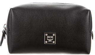 MCM MCM Leather Cosmetic Bag
