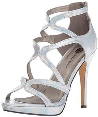 Michael Antonio Women's Riot-Met Dress Sandal