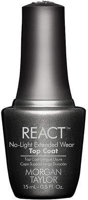 Morgan & Taylor MORGAN TAYLOR Morgan Taylor React No-Light Extended Wear Top Coat - .5 oz.