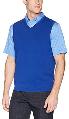 Cutter & Buck Men's Machine Washable Lakemont V-Neck Sweater Vest