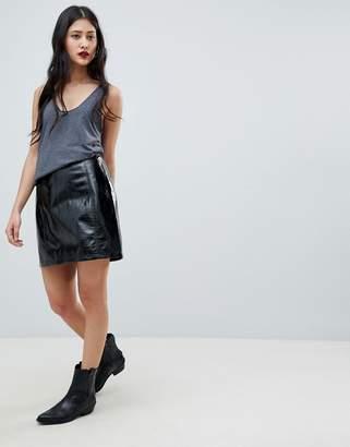 Vero Moda high shine skirt