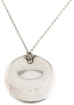 Tiffany & Co. Elsa Peretti Round Pendant Necklace