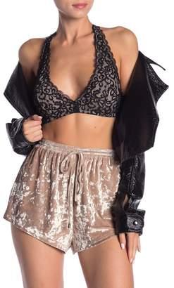Dress Forum T-Strap Lace Bralette