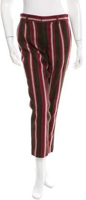 Thakoon Striped Straight-Leg Pants