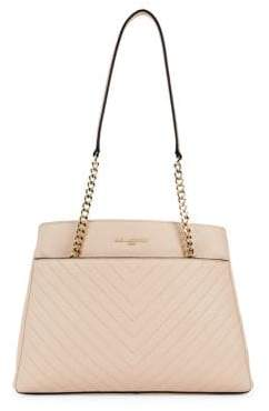 Karl Lagerfeld Paris Textured Leather Tote