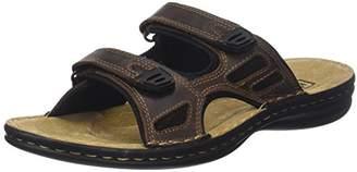 TBS Men's Brokey Open Toe Sandals, Brown (Marron 005)