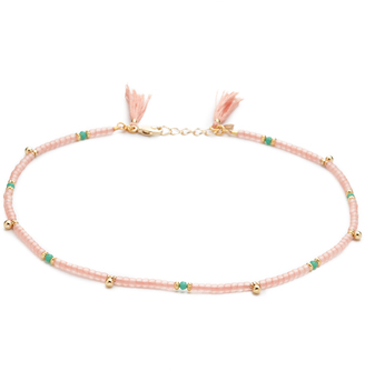 Shashi Eliza Wrap Choker Necklace $50 thestylecure.com