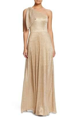 Dress the Population Savannah One-Shoulder Gown