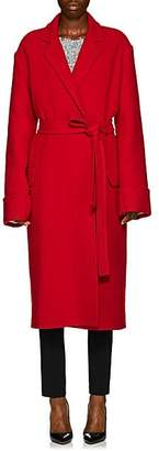 Helmut Lang Women's Wool Blanket Coat - Red