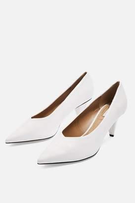Topshop Jodie Mid Heel Court Shoes