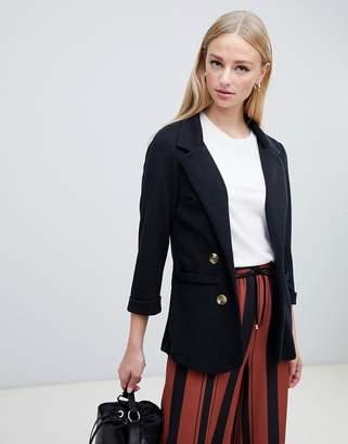 New Look blazer in black