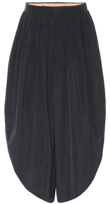Chloé Sahara cotton poplin trousers