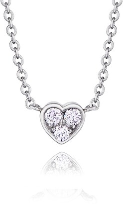 7d3477c35 Kwiat Heart Pendant Necklace