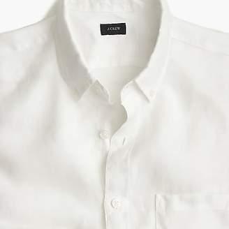 J.Crew Irish linen shirt in solid
