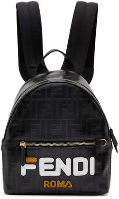 b9d26c7c23 Free Shipping at SSENSE · Fendi Black Small Mania Backpack