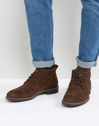 Levi's Levis Huntington Suede Boots In Brown