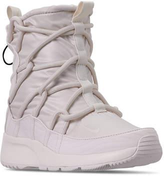 Nike Women Tanjun High Rise High Top Sneaker Boots from Finish Line