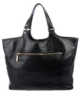 Tory Burch Leather Multi-Pocket Tote