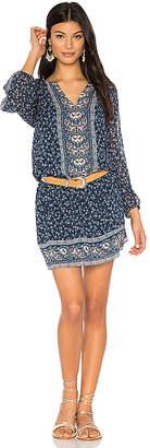 Joie Ariella Dress in Blue $388 thestylecure.com