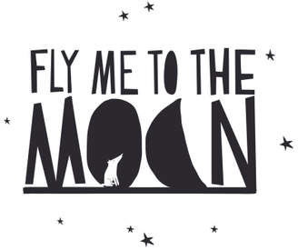 Fly London MIMI'lou Me to the Moon Sticker