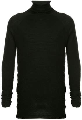 Forme D'expression high neck knit sweater