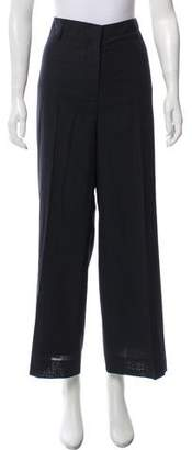 Akris High-Rise Wide-Leg Pants