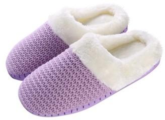 AERUSI Aerusi Weave Knit Women's Slip-on Indoor Home Slippers