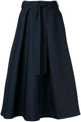 MSGM high-waisted midi skirt