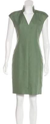 Akris Silk-Blend Sleeveless Dress