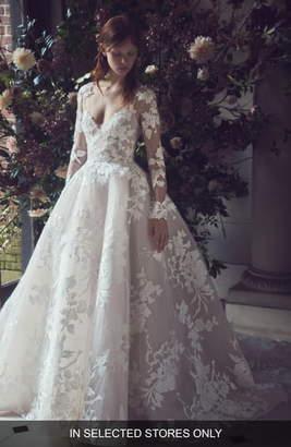 Monique Lhuillier Maeve Lace Dress