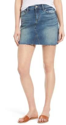 Treasure & Bond Denim Miniskirt (Gravel Medium Vintage)