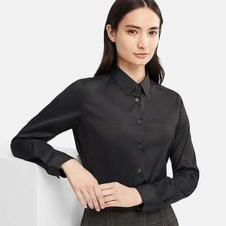 Uniqlo Women's Supima Cotton Stretch Long-sleeve Shirt