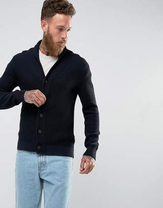 Selected Shawl Collar Cardigan