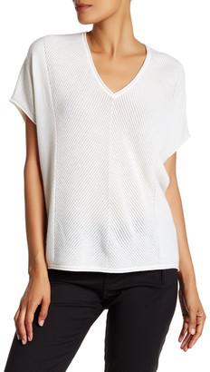 VINCE. Pointelle Knit Cashmere Pullover $275 thestylecure.com