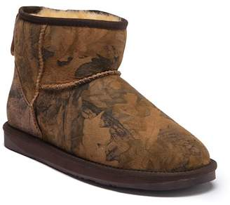 Australia Luxe Collective Cosy X Short Forest Print Genuine Shearling Lined Boot