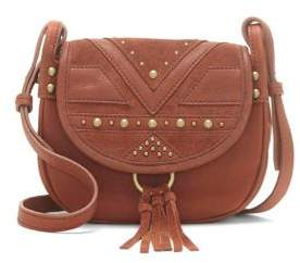 Lucky Brand Stud Embellishment Leather Crossbody Bag