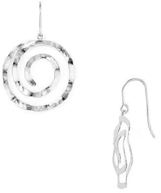 Bloomingdale's Hammered Spiral Drop Earrings - 100% Exclusive